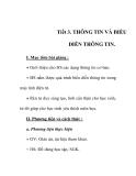 Giáo án tin học 6_ tiết 3