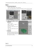 Hướng dẫn sử dụng 3dmax toàn tập và ứng dụng - part 3