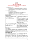 Giáo án lớp 5 môn Lịch Sử: ÔN TẬP HƠN TÁM MƯƠI NĂM CHỐNG THỰC DÂN PHÁP XÂM LƯỢC VÀ ĐÔ HỘ