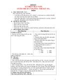 Giáo án lớp 5 môn Lịch Sử: XÃ HỘI VIỆT NAM CUỐI THẾ KỶ XIX ĐẦU THẾ KỶ XX.