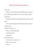 Giáo án lớp 5 môn Âm Nhạc: Học hát: Bài Những bông hoa những bài ca