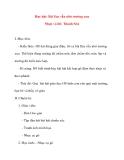 Giáo án lớp 5 môn Âm Nhạc: Học hát: Bài Em vẫn nhớ trường xưa