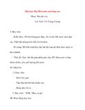 Giáo án lớp 5 môn Âm Nhạc: Học hát: Bài Đất nước tươi đẹp sao