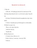 Giáo án lớp 5 môn Âm Nhạc: Học hát bài: Con chim hay hót
