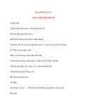 Giáo án lớp 4 môn Âm Nhạc: Học hát bài CÒ LÃ