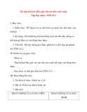 Giáo án lớp 5 môn Âm Nhạc: Ôn tập bài hát: Hãy giữ cho em bầu trời xanh Tập đọc nhạc: TĐN số 2