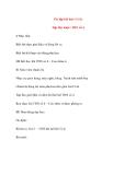 Giáo án lớp 4 môn Âm Nhạc: Ôn tập bài hát: Cò lả Tập đọc nhạc: TĐN số 4