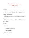 Giáo án lớp 5 môn Âm Nhạc: Ôn tập bài hát: Màu xanh quê hương - Tập đọc nhạc số 7