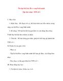 Giáo án lớp 5 môn Âm Nhạc: Ôn tập bài hát: Reo vang bình minh Tập đọc nhạc: TĐN số 1