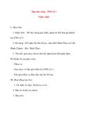 Giáo án lớp 5 môn Âm Nhạc: Tập đọc nhạc: TĐN số 3