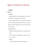 Giáo án Tiếng Việt lớp 3 : Tên bài dạy : Tập đọc – Kể chuyện Cóc kiện trời.