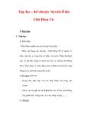 Giáo án Tiếng Việt lớp 3 : Tên bài dạy : Tập đọc – Kể chuyện Sự tích lễ hội Chữ Đồng Tử.