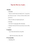 Giáo án Tiếng Việt lớp 3 : Tên bài dạy : Tập đọc Bàn tay cô giáo.