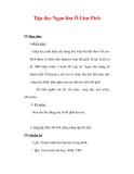 Giáo án Tiếng Việt lớp 3 : Tên bài dạy : Tập đọc Ngọn lửa Ô-Lim-Pích