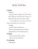 Giáo án Tiếng Việt lớp 3 : Tên bài dạy : Tập đọc Tin thể thao.