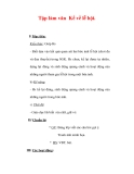 Giáo án Tiếng Việt lớp 3 : Tên bài dạy : Tập làm văn Kể về lễ hội.