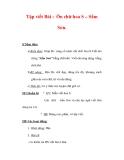 Giáo án Tiếng Việt lớp 3 : Tên bài dạy : Tập viết Bài : Ôn chữ hoa S – Sầm Sơn.