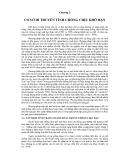 CƠ SỞ DI TRUYỀN TÍNH CHỐNG CHỊU ĐỐI VỚI THIỆT HẠI DO MÔI TRƯỜNG CỦA CÂY LÚA - CHƯƠNG 3