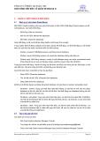 Đào tạo Oracle cơ bản - Giáo trình kiến trúc và quản trị Oracle 8i - Phần 2