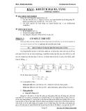 Thí nghiệm điện tử tương tự - Bài 4