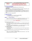 Thí nghiệm điện tử tương tự - Bài 6