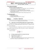 Thí nghiệm điện tử tương tự - Bài 7