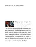 6 ứng dụng xử lý ảnh dành cho iPhone