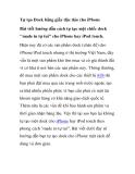 Tự tạo Dock bằng giấy độc đáo cho iPhone