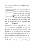 Soạn thảo văn bản bằng những ứng dụng khác ngoài  Microsoft Word