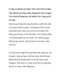 5 công cụ ghi lại các đoạn video chat trên Google+