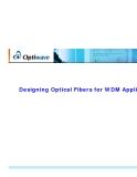 Designing Optical Fibers for WDM Applications phần 1