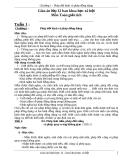 Giáo án hình học lớp 12 - Chương 1 - Phép dời hình và phép đồng dạng