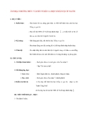 Giáo án lớp 7 môn Âm Nhạc: ÂM NHẠC THƯỜNG THỨC: VÀI NÉT VỀ DÂN CA MỘT SỐ DÂN TỘC ÍT NGƯỜI