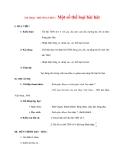 Giáo án lớp 7 môn Âm Nhạc: ÂM NHẠC THƯỜNG THỨC:Một số thể loại bài hát