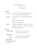 Giáo án lớp 7 môn Âm Nhạc: HỌC HÁT BÀI CACHIUSA