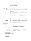 Giáo án lớp 7 môn Âm Nhạc: HỌC HÁT BÀI TIẾNG VE GỌI HÈ