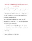 Giáo án lớp 4 môn Lịch Sử: Tên bài dạy : Những chính sách về kinh tế , văn hoá của vua Quang Trung