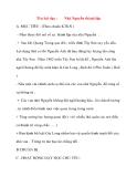 Giáo án lớp 4 môn Lịch Sử: Tên bài dạy :Nhà Nguyễn thành lập
