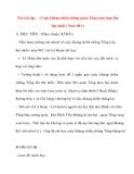 Giáo án lớp 4 môn Lịch Sử: Tên bài dạy : Cuộc kháng chiến chống quân Tống xâm lược lần thứ nhất