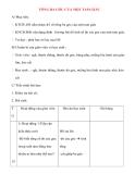Giáo án lớp 7 môn Hình Học: TỔNG BA GÓC CỦA MỘT TAM GIÁC