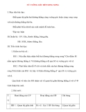 Giáo án lớp 7 môn Hình Học: TỪ VUÔNG GÓC ĐẾN SONG SONG