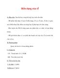 Giáo án Sinh học lớp 6 : Tên bài dạy : Biến dạng của rễ