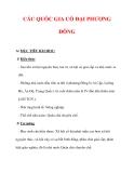 Giáo án Lịch sử lớp 6 : Tên bài dạy : CÁC QUỐC GIA CỔ ĐẠI PHƯƠNG ĐÔNG