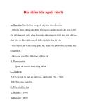 Giáo án Sinh học lớp 6 : Tên bài dạy : Đặc điểm bên ngoài của lá