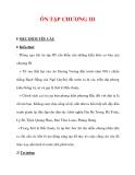 Giáo án Lịch sử lớp 6 : Tên bài dạy : ÔN TẬP CHƯƠNG III