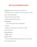 Giáo án Sinh học lớp 6 : Tên bài dạy : Sinh sản sinh dưỡng do người