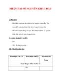 Giáo án môn Toán lớp 6 : Tên bài dạy : NHÂN HAI SỐ NGUYÊN KHÁC DẤU