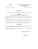 Nghị quyết số 01/2011/QH13