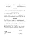 Quyết định số 1320/QĐ-TTg