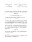 Nghị quyết số 18/2011/NQ-HĐND